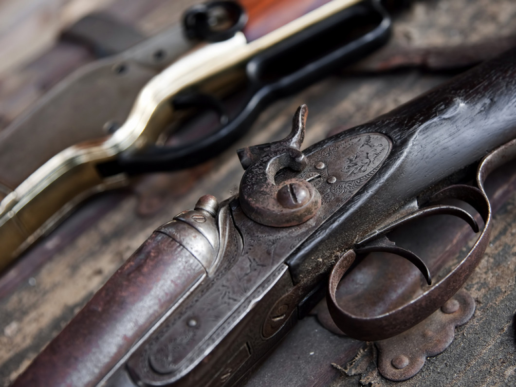 We have an impressive inventory of collectible guns